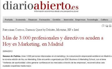 DiarioAbierto_Hoyesmarketing2012